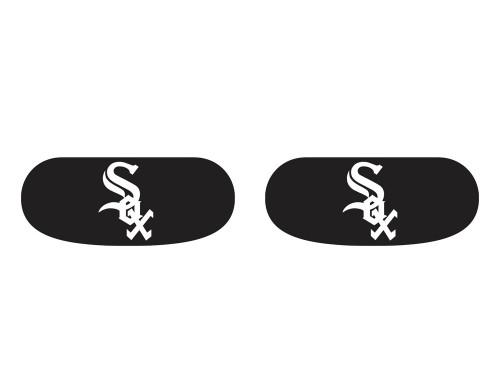 Chicago White Sox Eye Black Stickers 6ct
