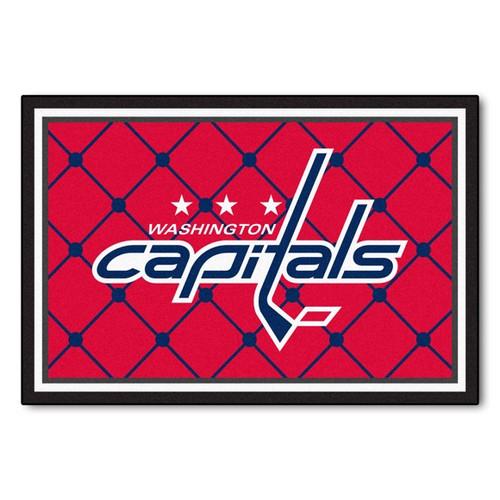 Washington Capitals 8' x 10' Ultra Plush Rug