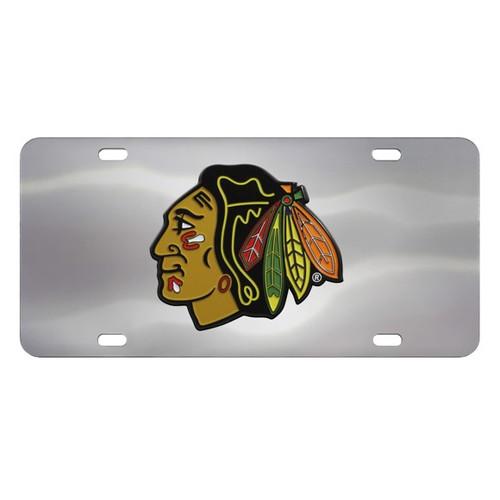 Chicago Blackhawks Diecast License Plate