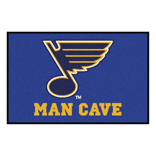 St Louis Blues Man Cave Starter Mat