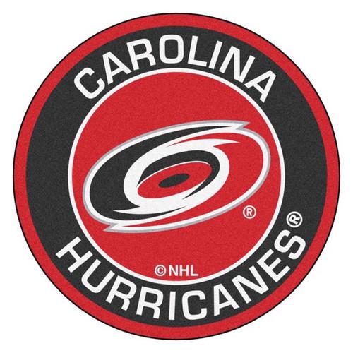 Carolina Hurricanes NHL Hockey Round Mat