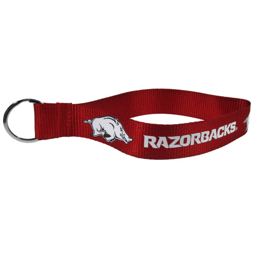Arkansas Razorbacks Lanyard Key Chain