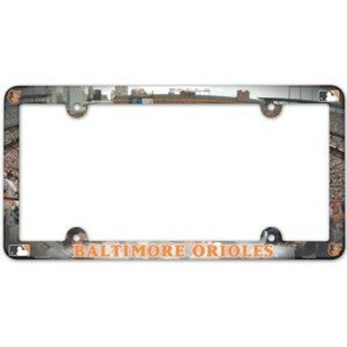 Baltimore Orioles Stadium License Plate Frame