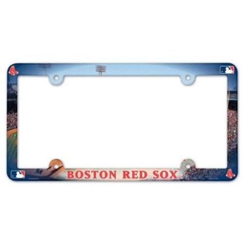 Boston Red Sox Stadium License Plate Frame