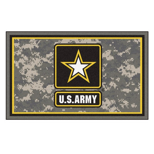U.S. Army 4' x 6' Ultra Plush Area Rug