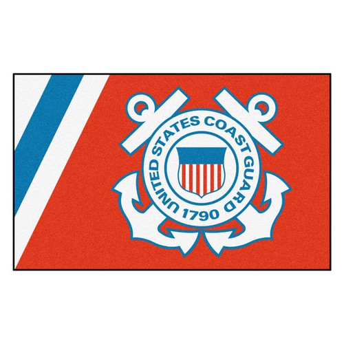U.S. Coast Guard 4' x 6' Ultra Plush Area Rug