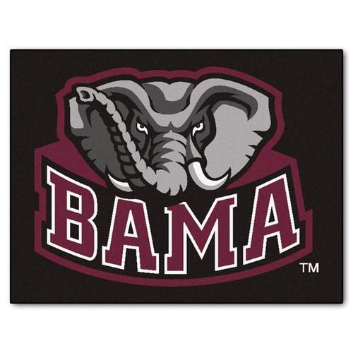 Alabama Crimson Tide All Star Mat - Elephant Logo