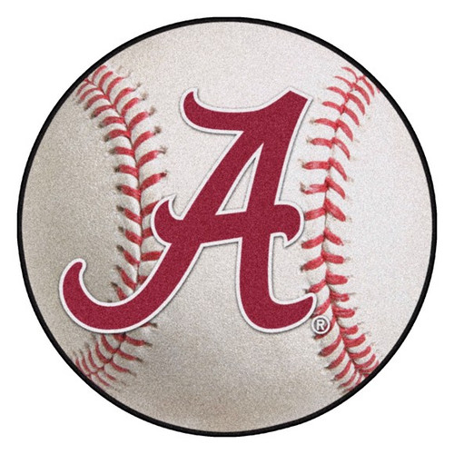Alabama Crimson Tide Baseball Mat