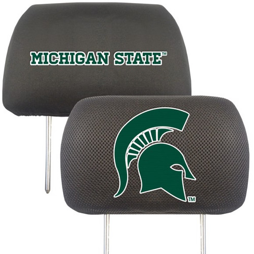 Michigan State Spartans Headrest Cover Set