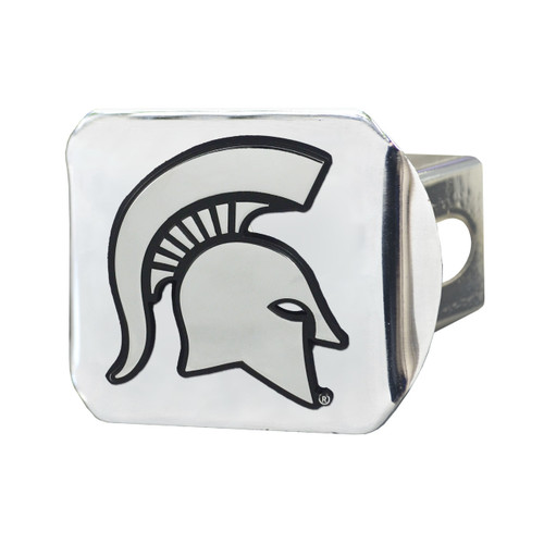 Michigan State Spartans Chrome Hitch Cover