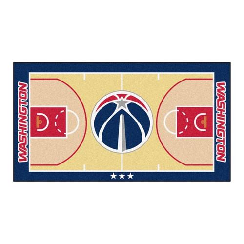 Washington Wizards NBA Basketball Court Large Runner