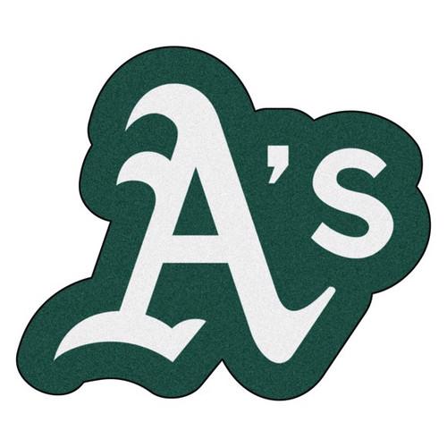 Oakland Athletics Mascot Mat - A's Logo