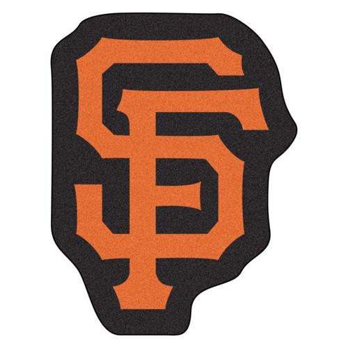 San Francisco Giants Mascot Mat - SF Logo