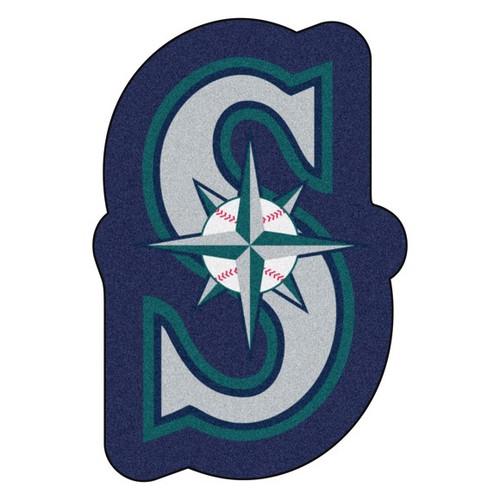 Seattle Mariners Mascot Mat - S Compass Logo