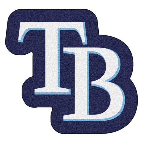 Tampa Bay Rays Mascot Mat - TB Logo