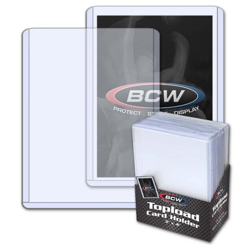 3 x 4 Topload Card Holder - Standard - 25 Pack