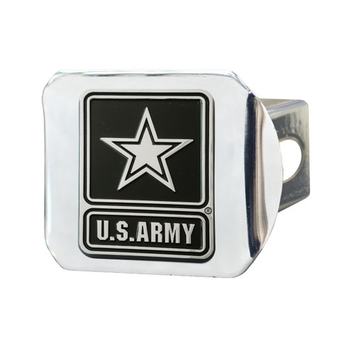 U.S. Army Metal Hitch Cover Chrome