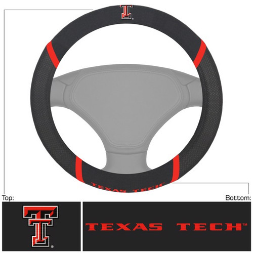 Texas Tech Steering Wheel Cover