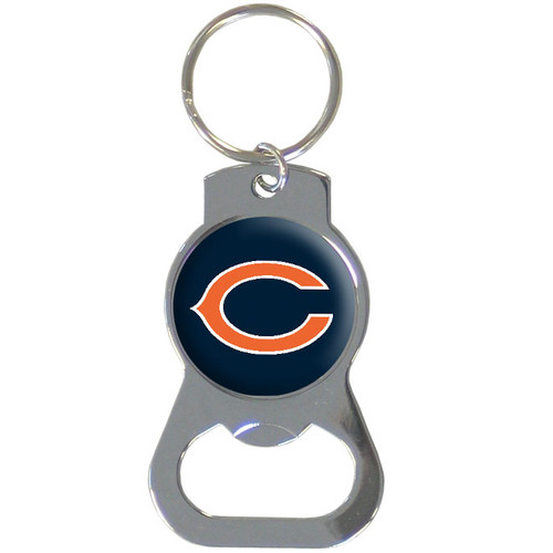 Chicago Bears Bottle Opener Key Chain