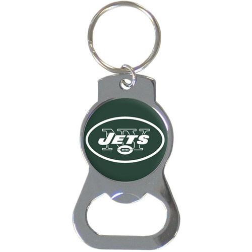 New York Jets Bottle Opener Key Chain