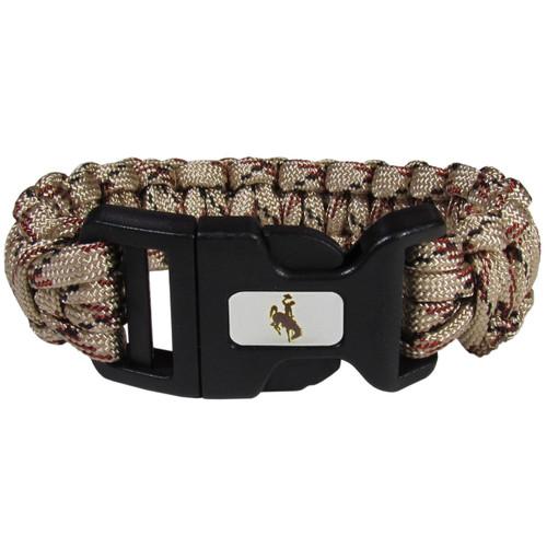 Wyoming Cowboys Survivor Bracelet Camo TN