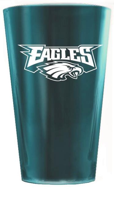 Philadelphia Eagles Glacier Glass Highball