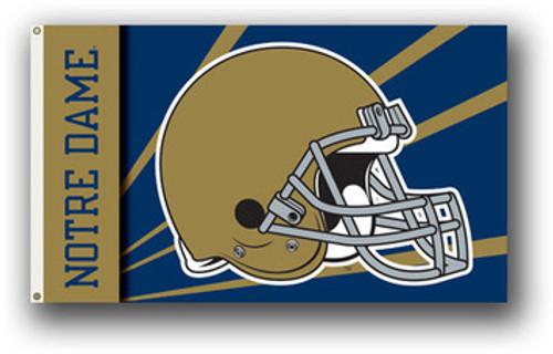 Notre Dame Fighting Irish Flag - Helmet