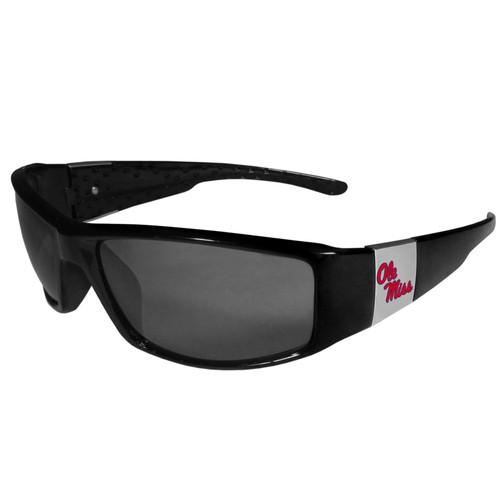 Ole Miss Rebels Chrome Wrap Sunglasses Color