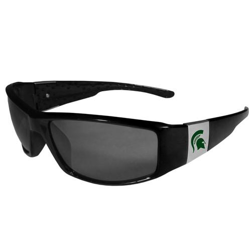 Michigan State Spartans Chrome Wrap Sunglasses Color
