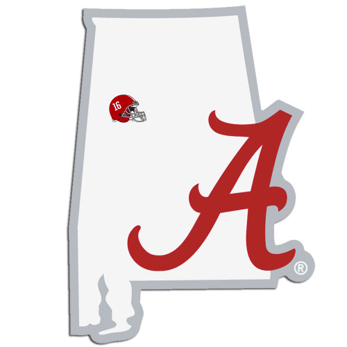 Alabama Crimson Tide Home State Decal