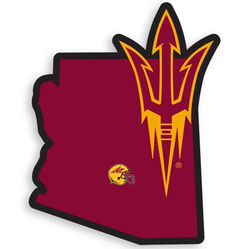 Arizona State Sun Devils Home State Decal