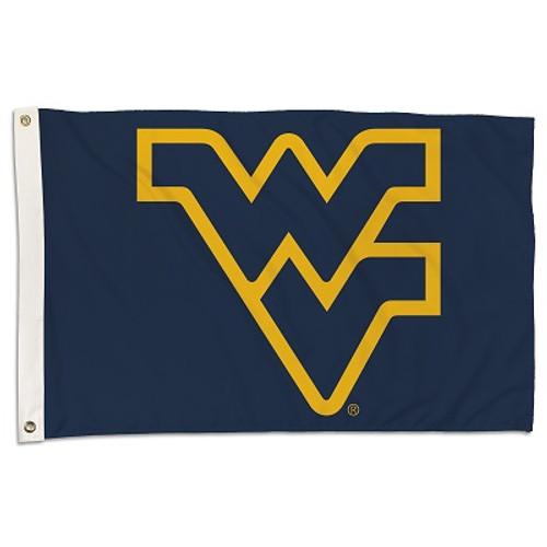 West Virginia Mountaineers NCAA Flag Banner