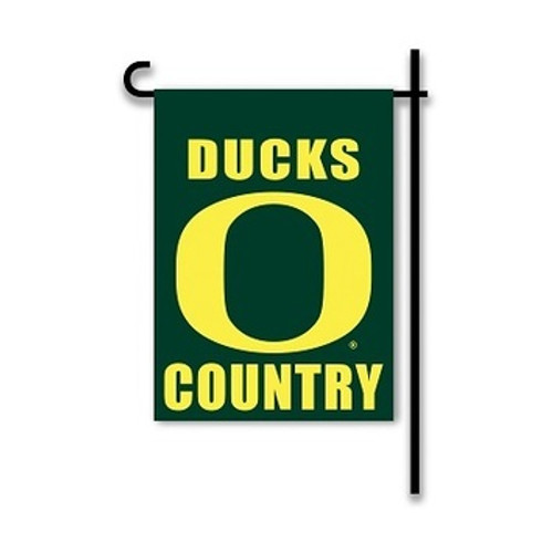 Oregon Ducks 2-Sided Garden Flag Country