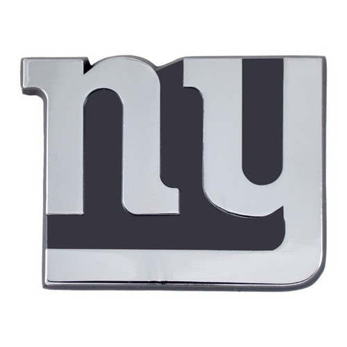 New York Giants Chrome Metal Emblem