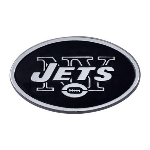 New York Jets Chrome Metal Emblem