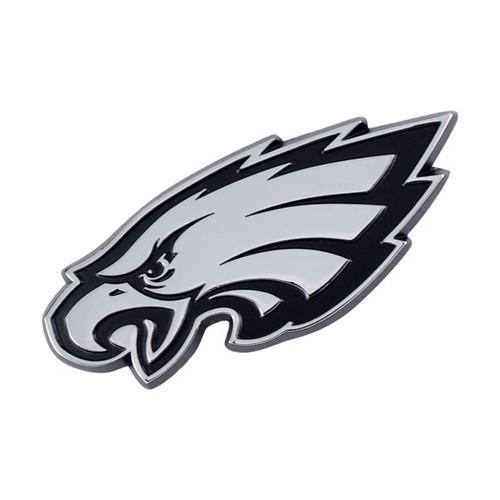 Philadelphia Eagles Chrome Metal Emblem