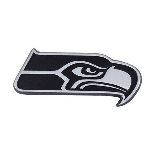 Seattle Seahawks Chrome Metal Emblem