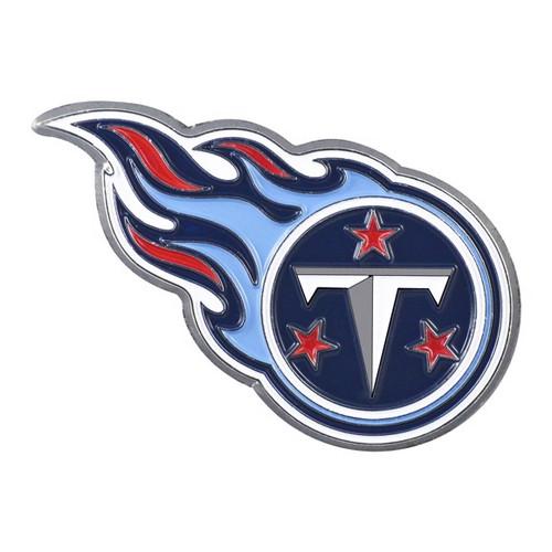 Tennessee Titans Metal Emblem Color