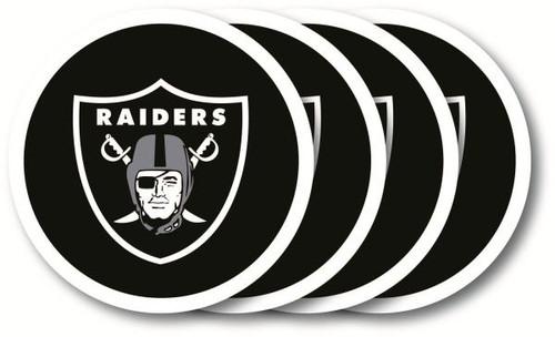 Oakland Raiders Coaster Set