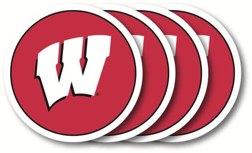 Wisconsin Badgers Coaster Set