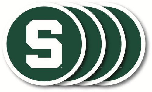 Michigan State Spartans Coaster Set