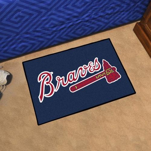 Atlanta Braves Starter Mat