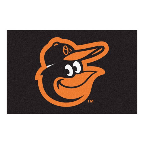 Baltimore Orioles Starter Mat - Gooney Bird Logo