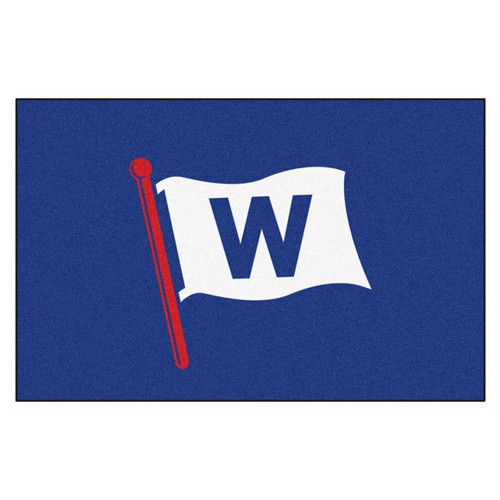 Chicago Cubs Starter Mat - W Flag Logo