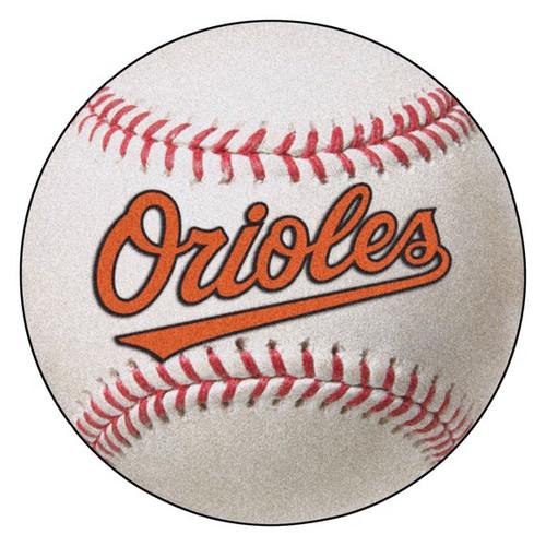 Baltimore Orioles Baseball Mat - Orioles Logo