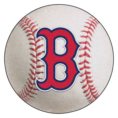 Boston Red Sox Baseball Mat - B Logo