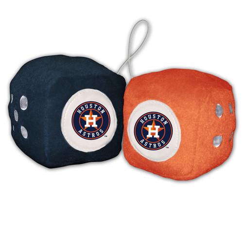 Houston Astros Plush Fuzzy Dice