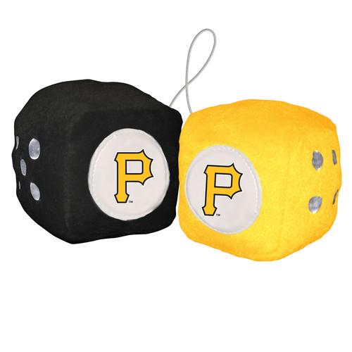 Pittsburgh Pirates Plush Fuzzy Dice