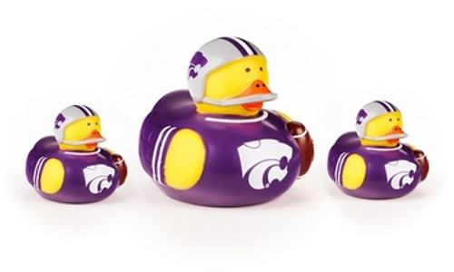 Kansas State Wildcats Toy Rubber Ducks