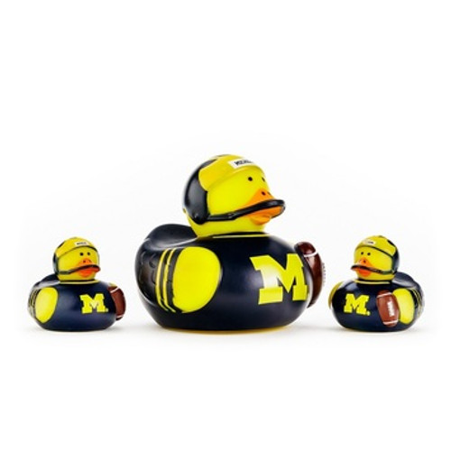 Michigan Wolverines All Star Toy Rubber Ducks